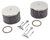 New Chrome Kadron Air Cleaner Assemblies
