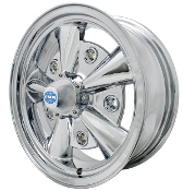 EMPI 5-RIB, 5-Lug, 5x205  Chrome Wheel