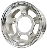 "Race Trim Aluminum 4"" Off Road Wheel"