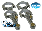 EMPI Forged 4140 Chromoly I-Beam Rods - 5.394""