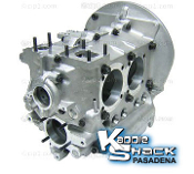 Auto Linea Bubble Top Aluminum Engine Case