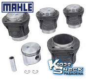 Mahle Forged Pistons and Cylinders Kit, 94mm x 69mm