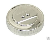 Stock Oil Cap - Chrome