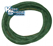4.5mm Cloth Braided Brake Fluid Hose - Made in Germany - per ft