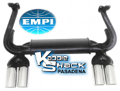EMPI  GT 4 Tip Monza Style Exhaust System - Black