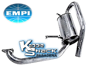 EMPI High Mount Super Tuck Quiet Muffler - Ceramic