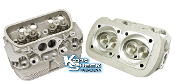 EMPI Deluxe Dual Port Cylinder Head with Stainless Valves, each