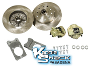 "5x130 Porsche & 5x4.75"" Chevy Front Disc Brakes no Drop Spindles"