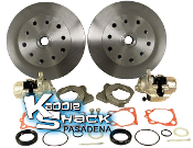 "5x130 Porsche & 5x4.75"" Chevy Rear Disc Brakes"