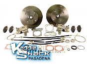 STANDARD Rear Disc Brake Kit '68 to '72 4x130mm HAS Ebrake