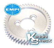EMPI Aluminum Bolt-On Cam Gear, Helical