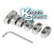 Spark Plug Wire Separators, Chrome