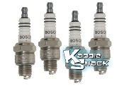 Bosch WR8AC Spark Plugs, Pack of 4