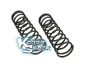 Super Beetle Replacement Coil Springs, Pair, Lowered/Stock