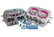 Performance Stage 2 Ported/Polished Cylinder Heads, Pair