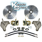 5x205mm Front Disc Brakes With Drop Spindles
