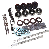 Chromoly Off-Road Axle Kit, w/ 930 CV's into Bug for 3x3