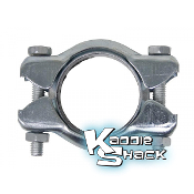 Exhaust (Muffler) Clamp, for Heater Boxes or J-Tubes