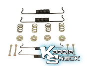 Brake Hardware Kit, Front, Type 1 '58 to '64