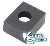 Body Mounting Rubber Pad For Beams, 17mm