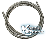 "#8 Cobra™ 1/2"" Braided Oil Pressure Hose, Stainless Steel"