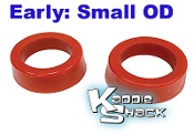 "Urethane Smooth Spring Plate Bushings, SMALL 1-7/8"" - See Chart"