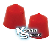 Urethane Suspension Snubbers (Stoppers) for Link Pin Beams, Pair