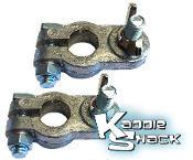 Battery Terminals, Lug Stud Style, Pair