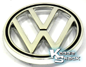 German Hood Emblem, VW Logo, Fits '63 to '79 Type 1