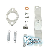 Heater Box Control Linkage Lever Control Kit, Left