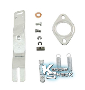 Heater Box Control Linkage Lever Control Kit, Right