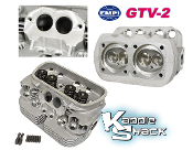 EMPI GTV-2 Performance Cylinder Head w/ Performance Valve Job
