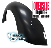 Left Rear Fender, '68 to '72 Standard Beetle, '71 & '72 Super B