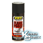 VHT Extreme Temperature Exhaust Header Paint, Flat Black
