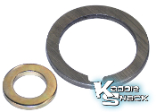 Alignment Shims (Spacers) for Crankshaft and Alternator Pulleys
