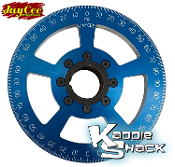 "Jaycee ""California Cooling"" Street Pulley, 7"" Blue, Engraved"