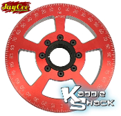 "Jaycee ""California Cooling"" Street Pulley, 7"" Red, Engraved"