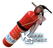 Fire Extinguisher with Mounting Bracket, Meets DOT Requirements