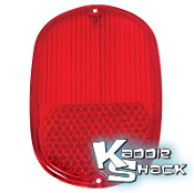 '62 to '71 Bus Taillight Lens, Red