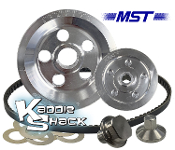 MST Matador V-Belt Pulley System, Polished