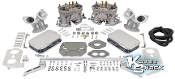 EMPI 44 HPMX Dual Carburetor Set, Type 3